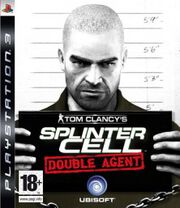 tom clancys splinter cell double agent ps3