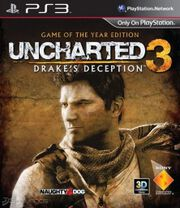 uncharted 3: drakes deception goty ps3