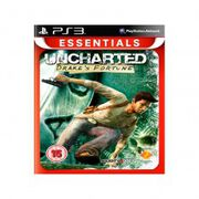 uncharted: drakes fortune essentials ps3