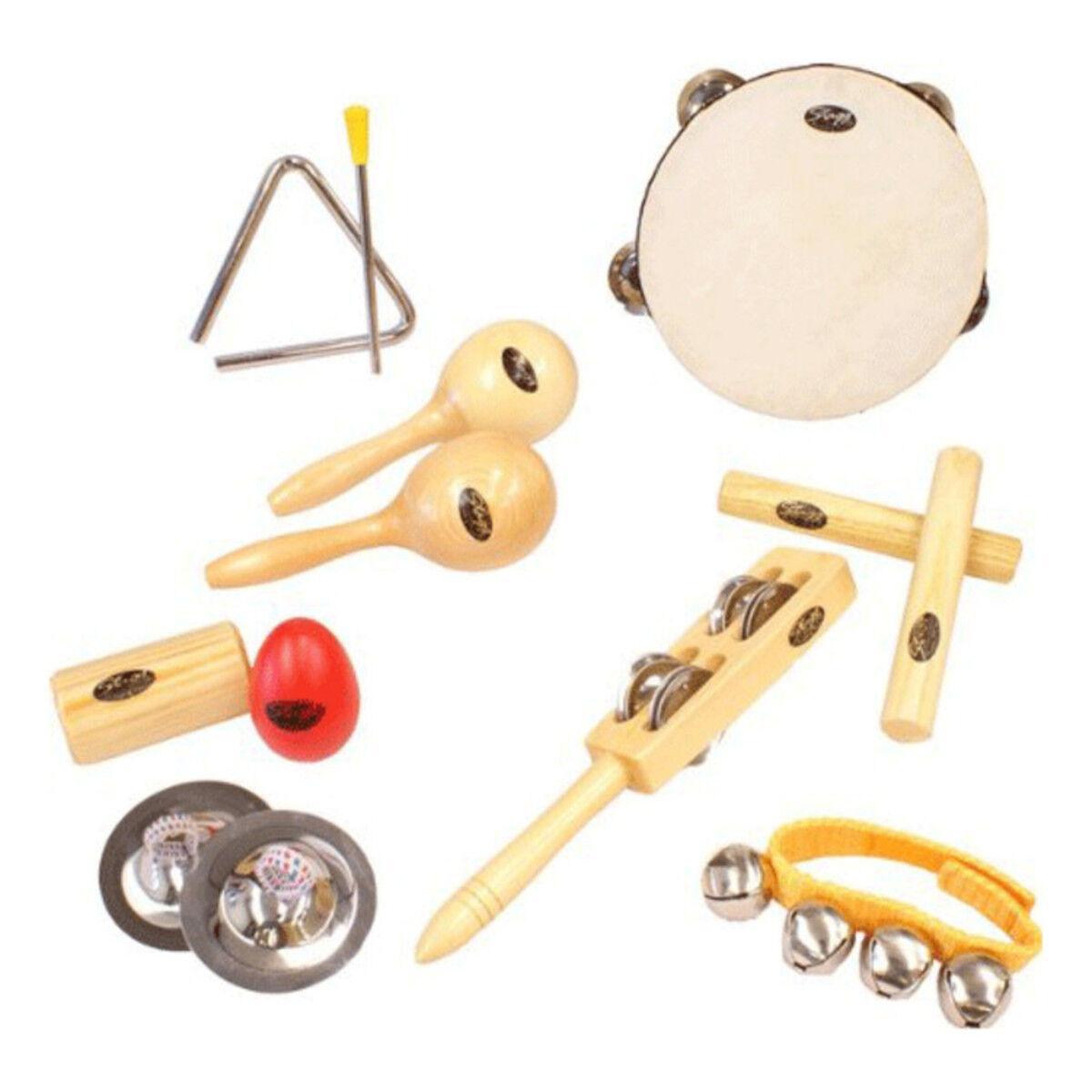 set instrumento percusión