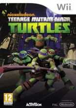 teenage mutant ninja turtles nickelodeon wii