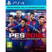 pro evolution soccer 2018 premium edition ps4