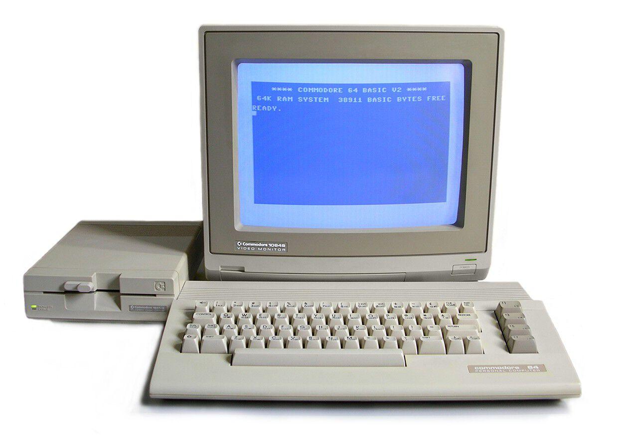 PC vintage Commodore