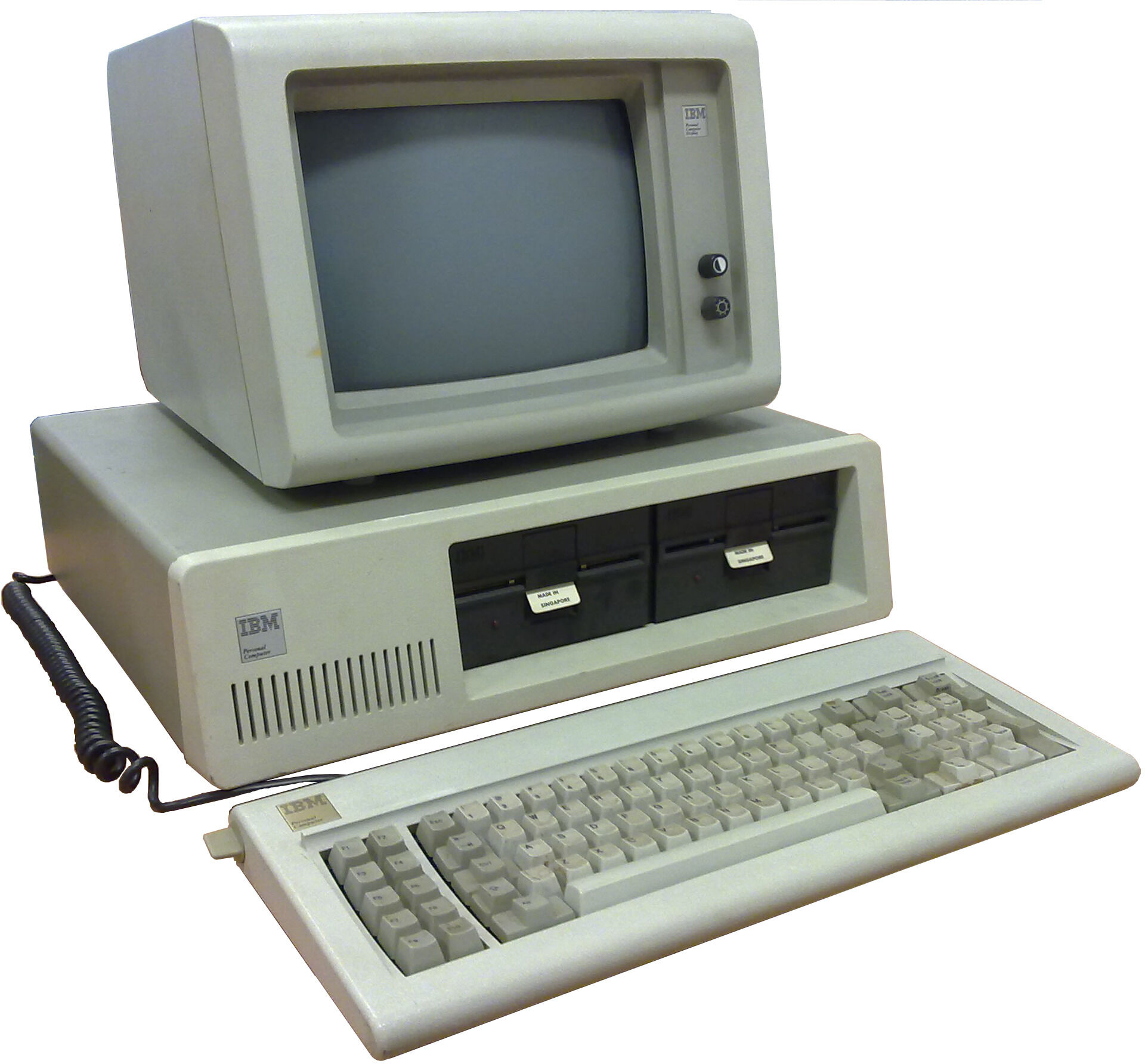 PC vintage IBM
