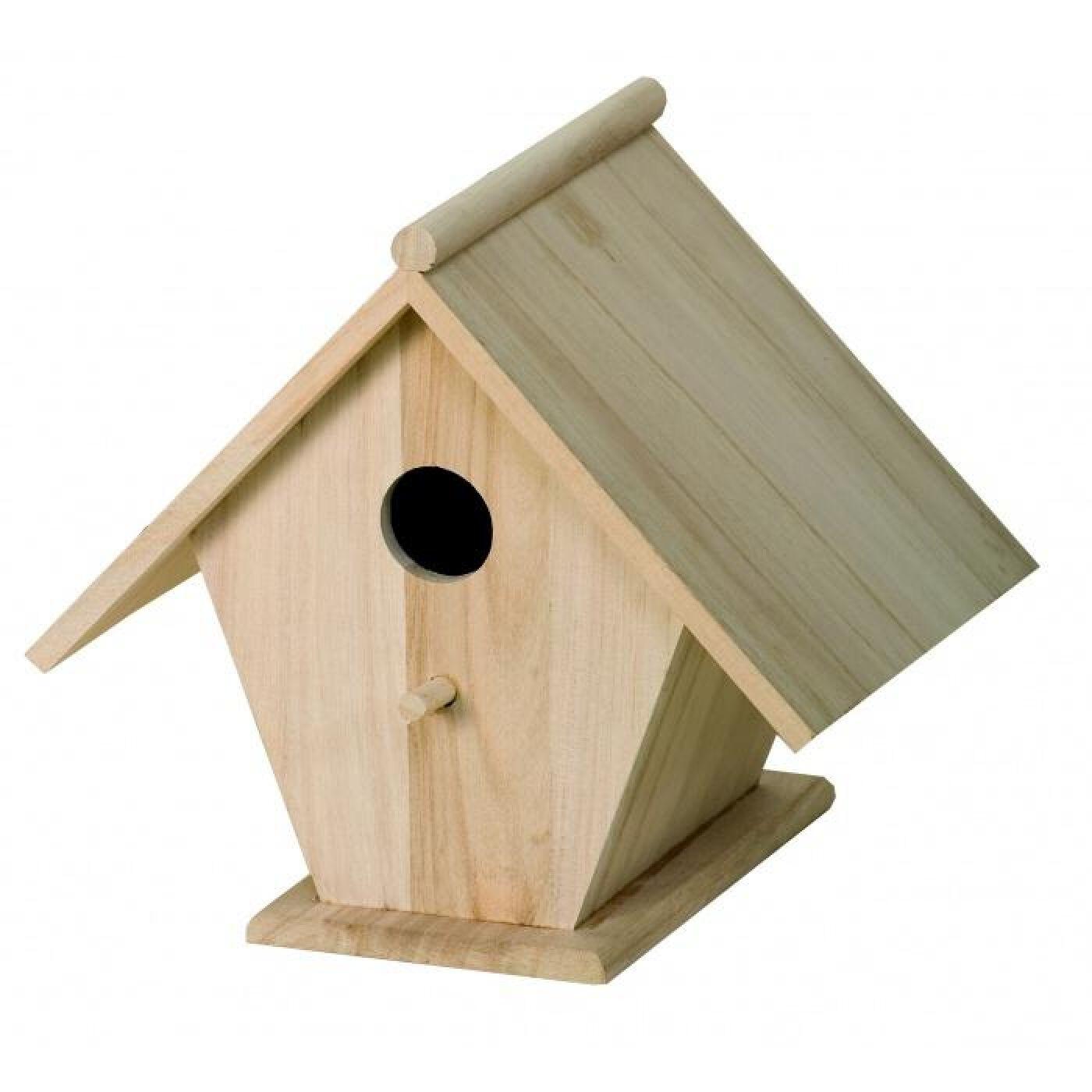caja nido de pajaros
