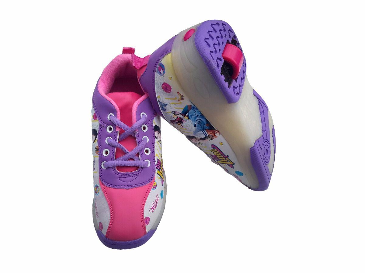 calzado con ruedas