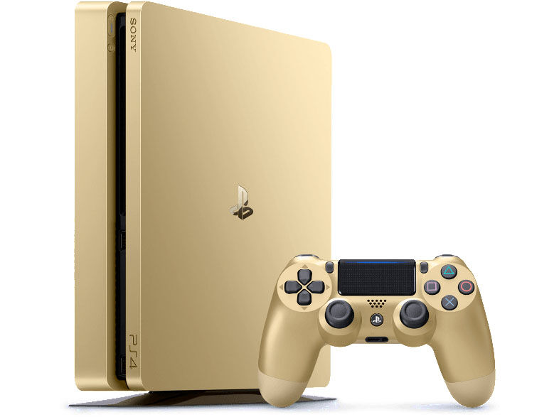 sony ps4 slim 500gb gold