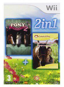 2 en 1 mi granja caballos + pony friends 2 wii