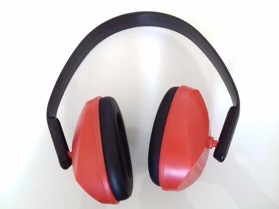 Casco protección ruido