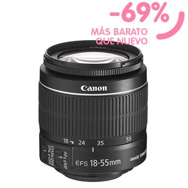 Objetivo Canon Ef-S 18-55mm